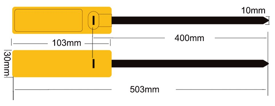 rfid cable tag 30103