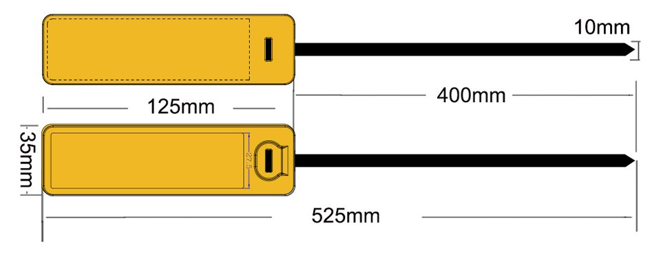 rfid cable tag 35125